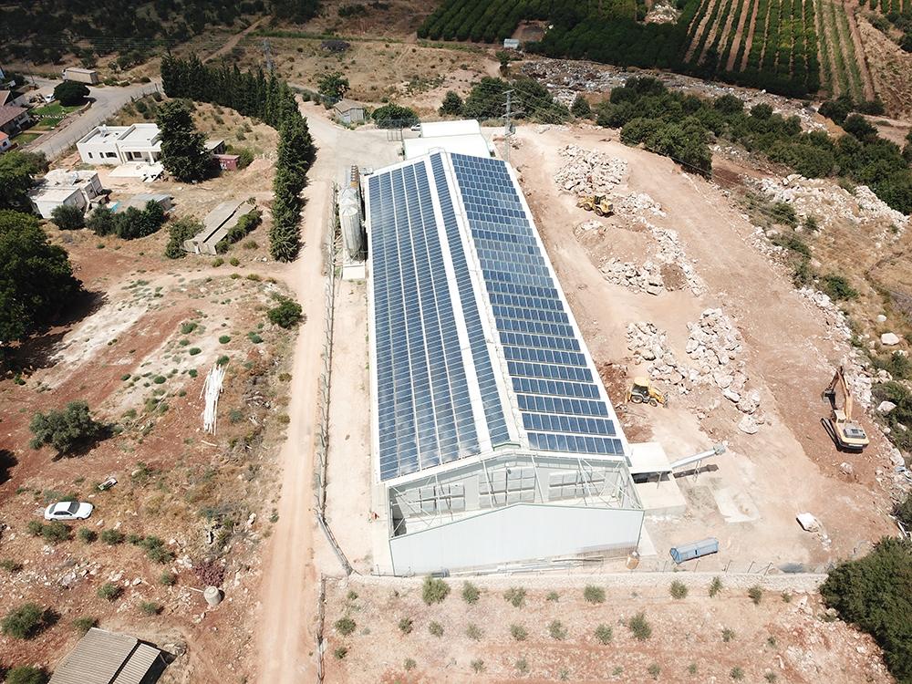 מערכת סולארית בכפר שמאי