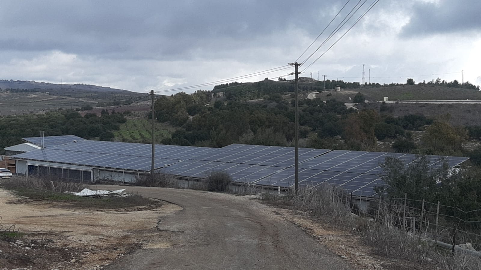 מערכת סולארית מסחרית