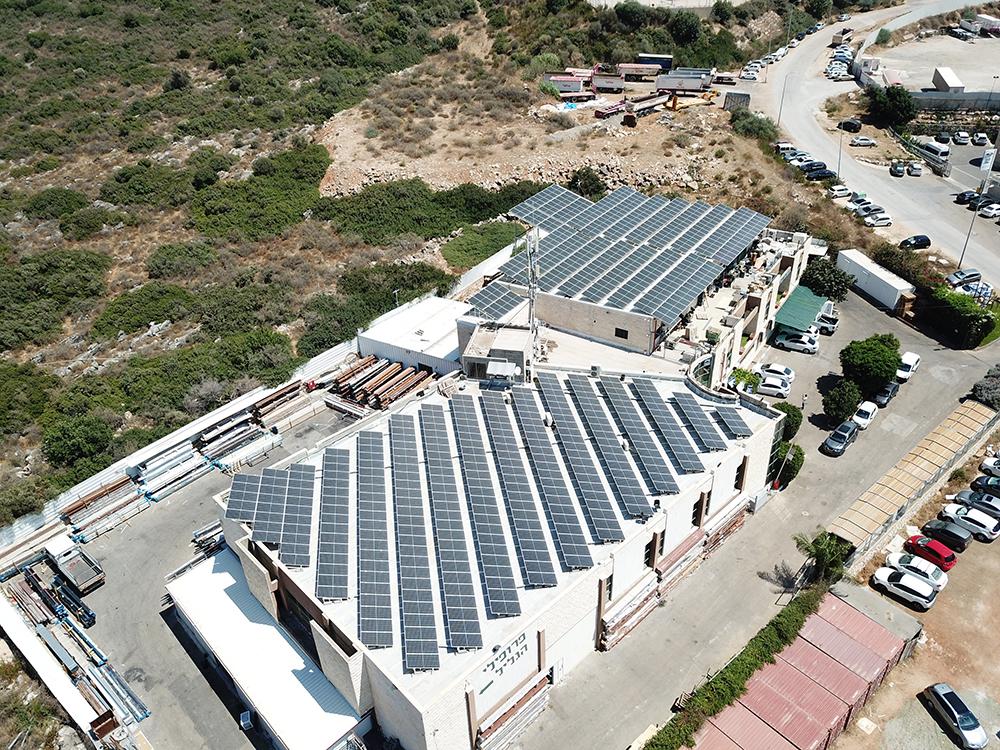 מערכת סולארית בגליל